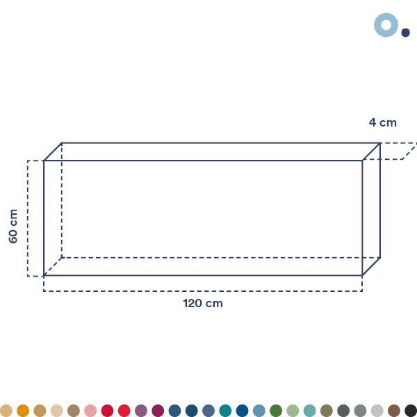 panel acustico rectangular bafle