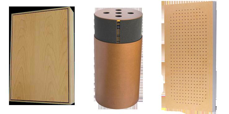 Materiales  de  absorción  acústica  empleados  en  el  diseño  de  interiores - Resonador de membrana