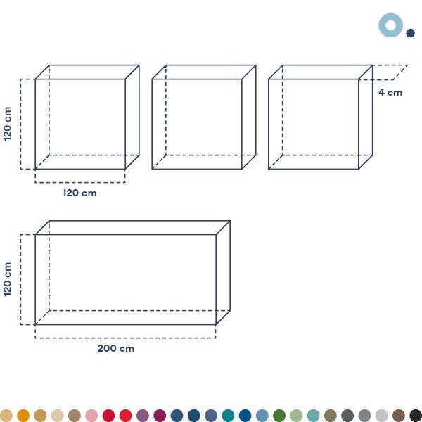 Cuadros acústicos - paneles acústicos