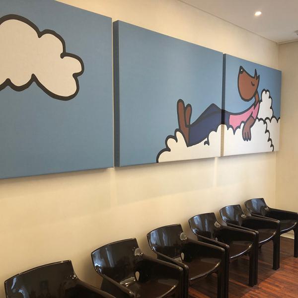 Cuadros Acústicos Sala Espera Dentista