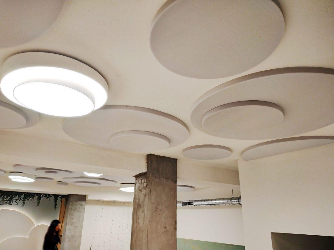 techo acustico decoracion