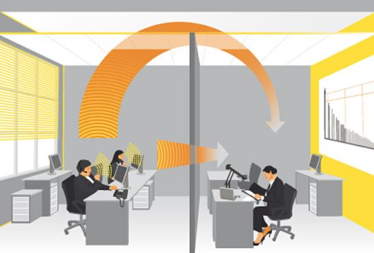 Acústica en oficinas - Sineco