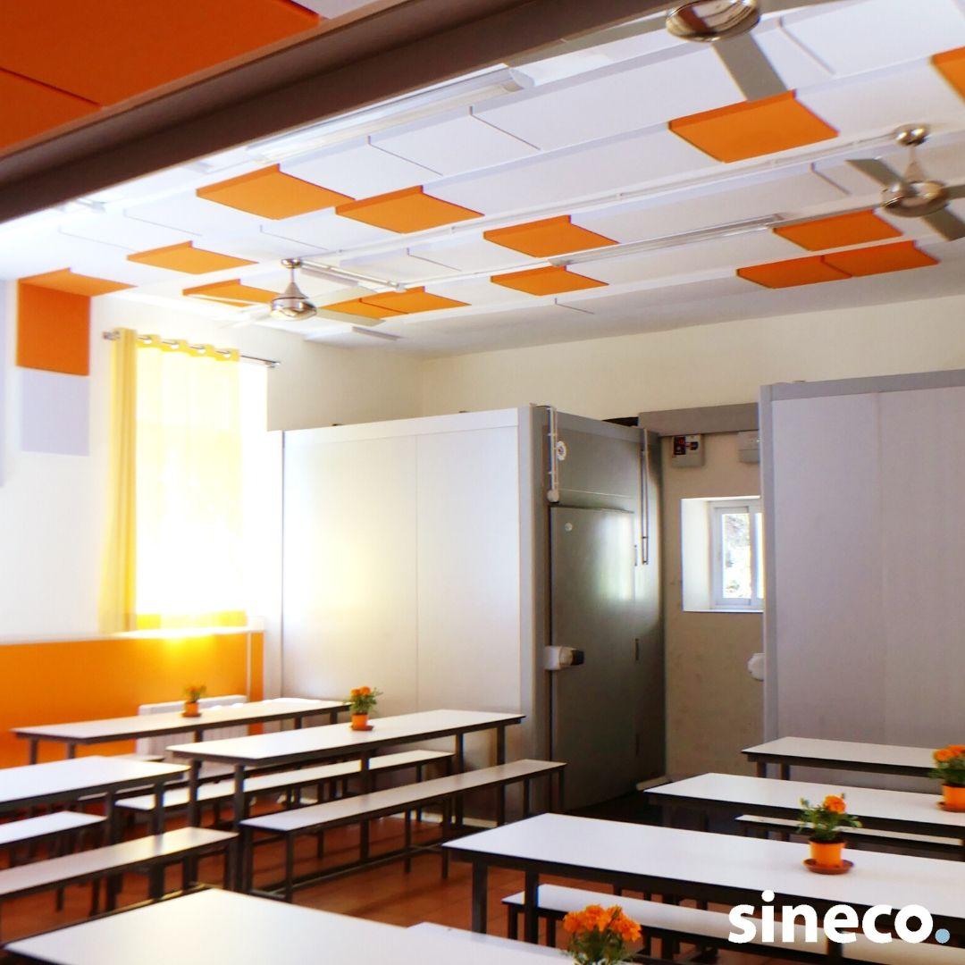 Paneles acústicos colegios