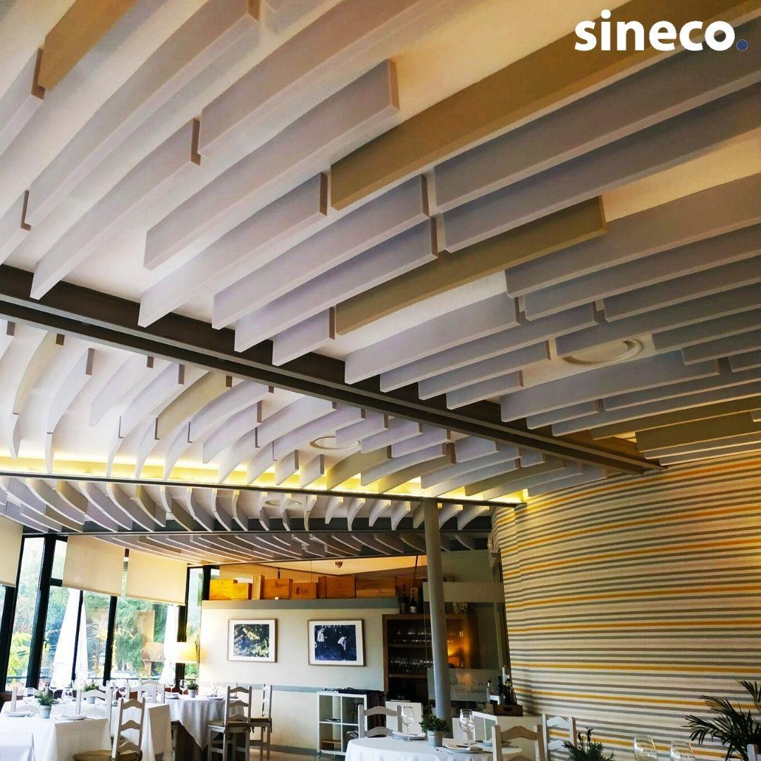 Restaurantes paneles acusticos