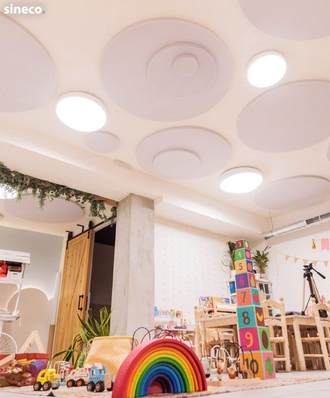 Cafeteria Mandarina Garden - Proyecto realizado con sineco.