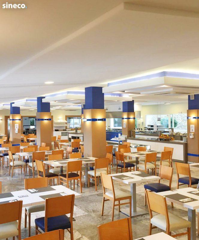 Hotel Playa Estepona - proyecto realizado con sineco.