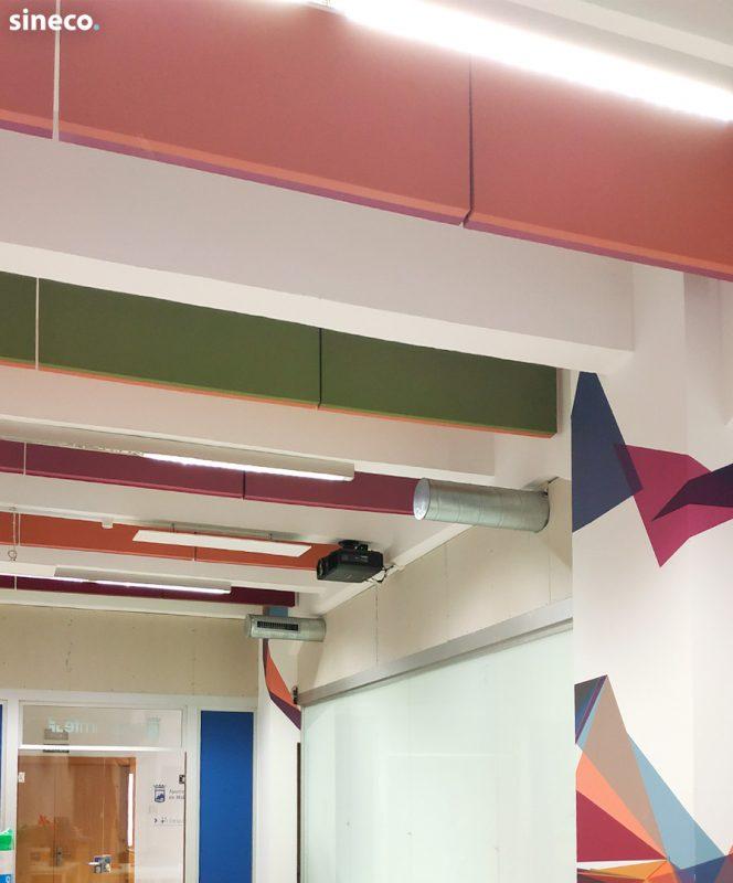 Oficinas IMFE - Proyecto realizado con sineco.
