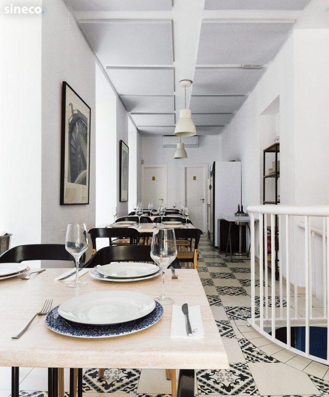 Restaurante Casa de Botes - Proyecto realizado con sineco.