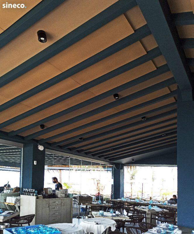 Restaurante La Milla Marbella - Proyecto realizado con sineco.